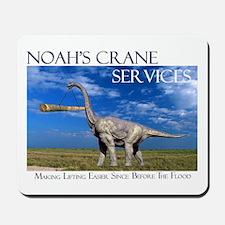 Noah's Crane Services Mousepad