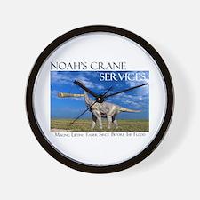 Noah's Crane Services Wall Clock