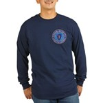 Massachusetts Free Masons Long Sleeve Dark T-Shirt