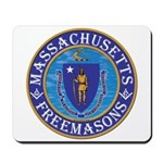 Massachusetts Free Masons Mousepad