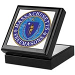 Massachusetts Free Masons Keepsake Box