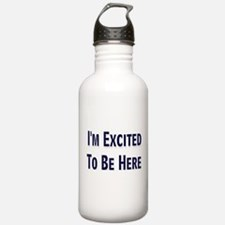 Excited Water Bottle