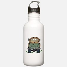 Farm Truck Water Bottle