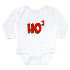 Ho Ho Ho Cubed Long Sleeve Infant Bodysuit