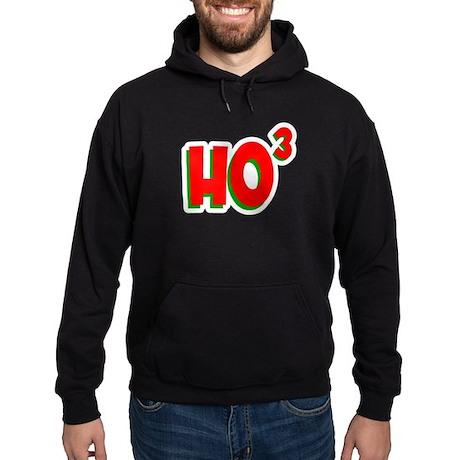Ho Ho Ho Cubed Hoodie (dark)