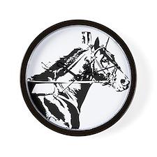 Unique Standardbred horse Wall Clock