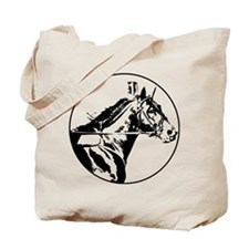 Cool Standardbred horse Tote Bag