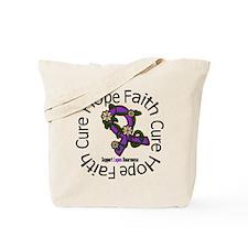 Lupus Hope Faith Cure Tote Bag