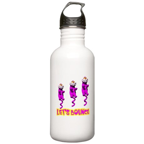 Let's Bounce Kitty Cat Stainless Water Bottle 1.0L