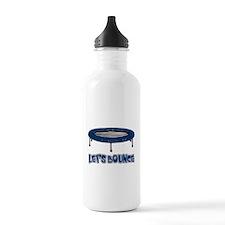 Let's Bounce Trampoline Water Bottle