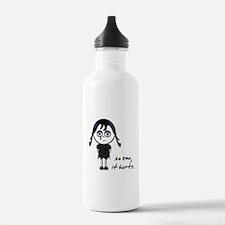 So Emo, It Hurts (Emo Girl) Water Bottle