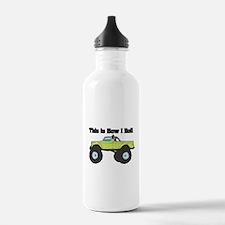 How I Roll (Monster Truck) Water Bottle
