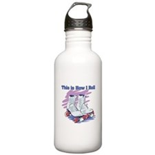 How I Roll (Roller Skates) Water Bottle