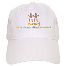 Me 2.0 New Dad Baseball Cap (baby twins)