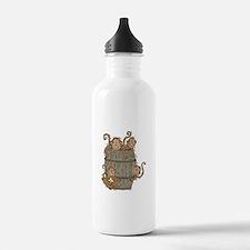 Cute Barrel of Monkeys Water Bottle