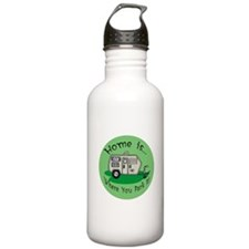 Trailer Park Home Water Bottle