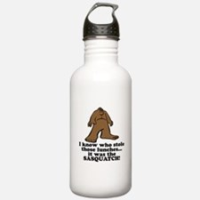 Sasquatch Stole the Lunches Water Bottle