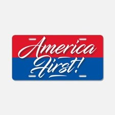 America First Aluminum License Plate
