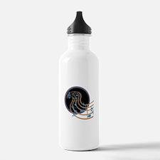 Music Notes Circle Water Bottle