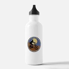 Mountain Bike Chain Design Water Bottle