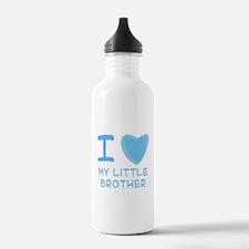 Blue I Heart (Love) My Little Water Bottle