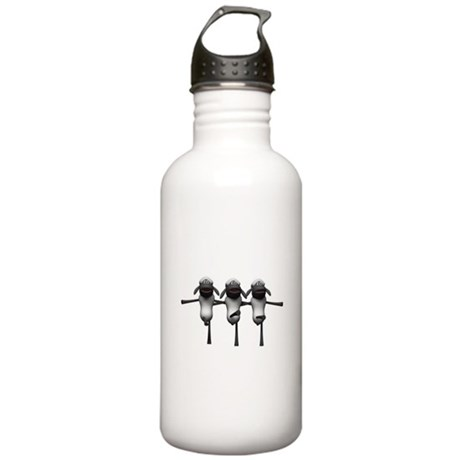 Silly Dancing Sheep Stainless Water Bottle 1.0L