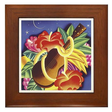 Frank Macintosh Aloha Framed Tile