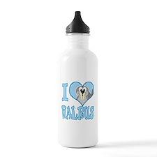 I Love (Heart) Walrus Water Bottle