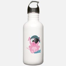 Cute Goofkins Piggy Pig Pirat Water Bottle