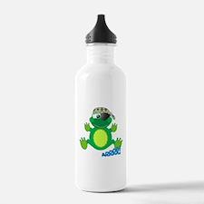 Goofkins Froggy Frog Pirate Water Bottle