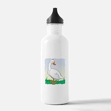 Cute Happy Goose Water Bottle