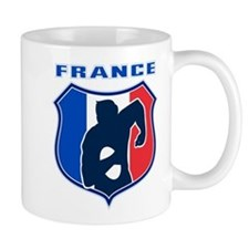 rugby france shield Mug