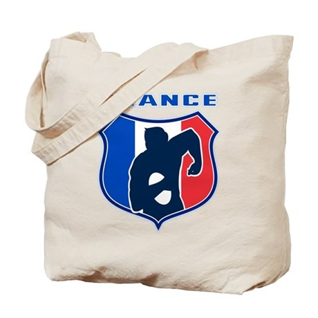 rugby france shield Tote Bag