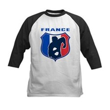 rugby france shield Tee