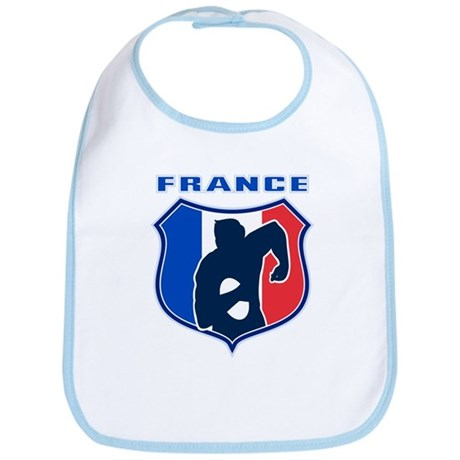 rugby france shield Bib