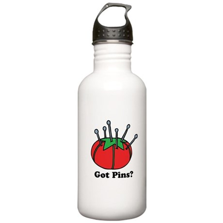 Got Pins? Pin Cushion Stainless Water Bottle 1.0L