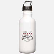 Beat Up Bowling Pins Water Bottle