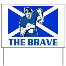 rugby scotland Yard Sign