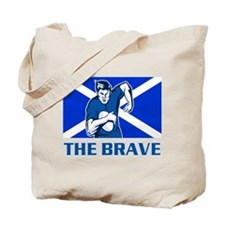 rugby scotland Tote Bag