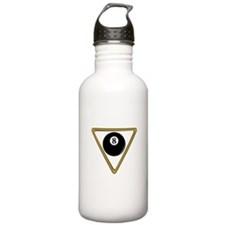 Eight Ball and Rack Water Bottle
