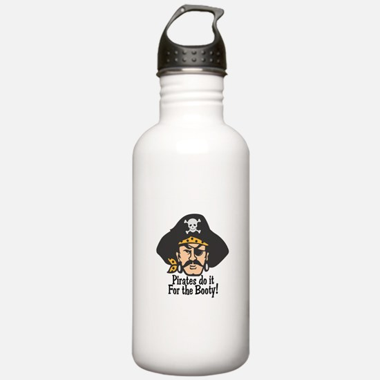 Pirates Do it For the Booty Water Bottle