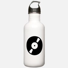 Retro Classic Vinyl Record Water Bottle