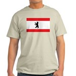Berlin Flag Ash Grey T-Shirt