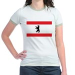 Berlin Flag Jr. Ringer T-Shirt