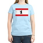 Berlin Flag Women's Pink T-Shirt