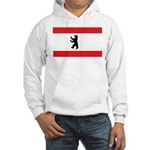 Berlin Flag Hooded Sweatshirt