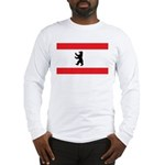 Berlin Flag Long Sleeve T-Shirt