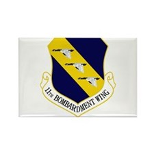 11th Bomb Wing Rectangle Magnet