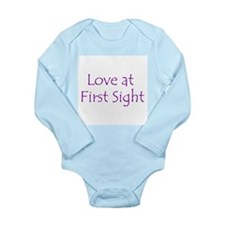 Love at First Sight Long Sleeve Infant Bodysuit