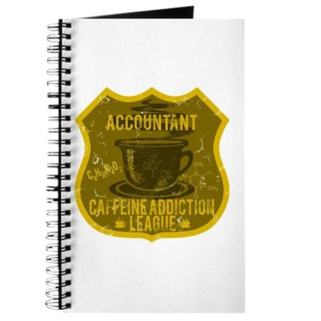 Accountant Caffeine Addiction Journal